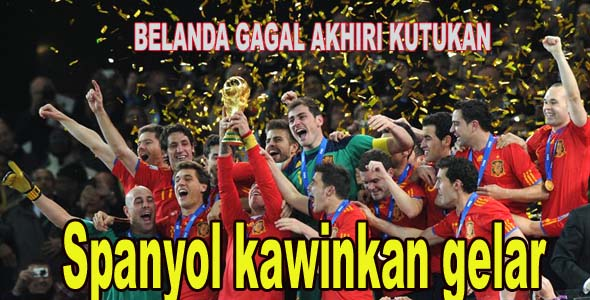 Spanyol Juara Piala Dunia 2010 - Kisahku