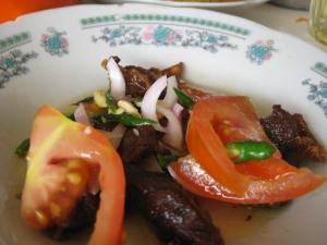 """dendeng baracik """"kuliner Minang"""""""