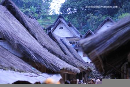 Atap Rumah Kampung Naga