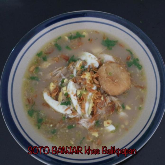 Soto Banjar, kuliner Balikpapan, kuliner Banjar