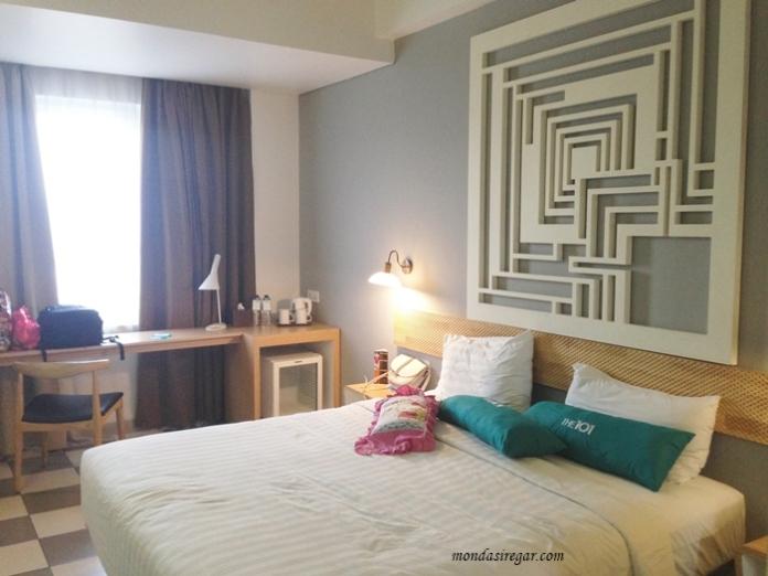 kamar hotel 101 Bogor Suryakancana, kamar tipe deluxe