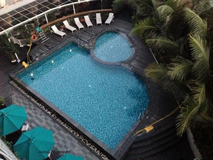 kolam renang hotel, hotel nyaman Bogor,  hot1l 1o1 Bogor Suryakancana